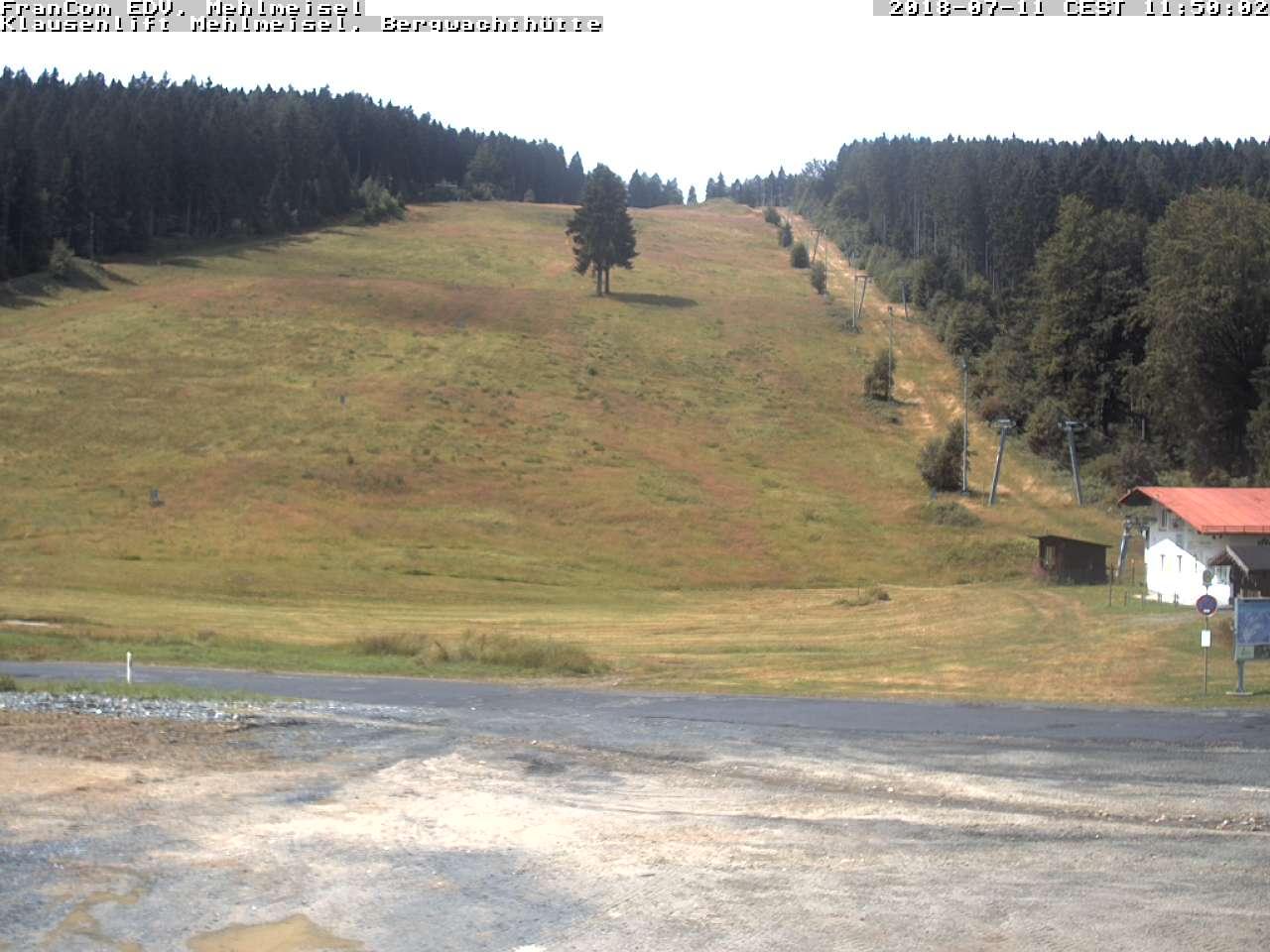 Webcam Skigebiet Mehlmeisel - Klausenlifte Fichtelgebirge